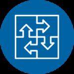 icon blue - integration